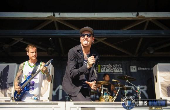 Vans Warped Tour 2014: Chelsea Grin at the Vans Warped Tour in Scranton, PA