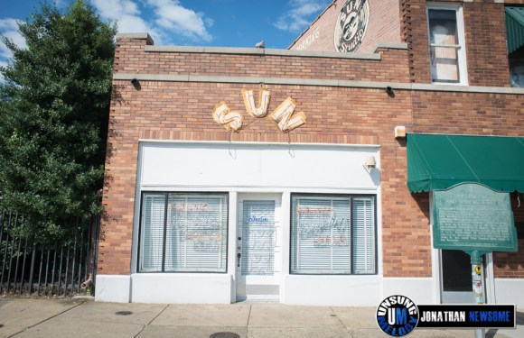 On The Road. The Birthplace of Rock and Roll. Sun Studio in Memphis, TN