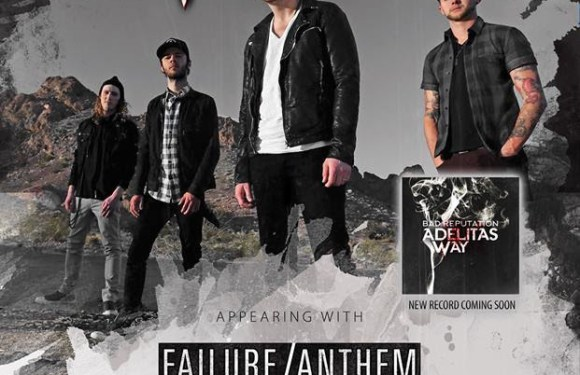"""Adelitas Way Announces Dates Of """"The Bad Reputation Tour"""" & Premiere New Single on Loudwire"""