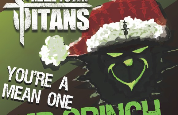 """Small Town Titans Give """"You're a Mean One Mr. Grinch"""" a Dark, Blues-Soaked Update!"""