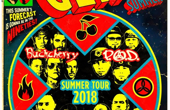 LOUDWIRE Announces GEN-X SUMMER With BUCKCHERRY, P.O.D., LIT, & ALIEN ANT FARM