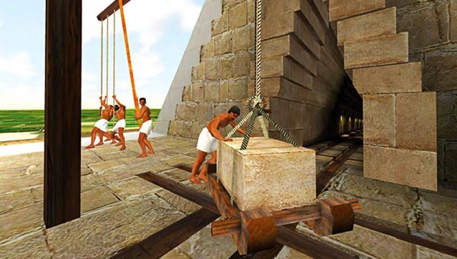 construccion piramides