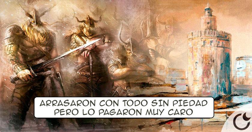 Resultado de imagen de El BRUTAL ATAQUE VIKINGO a Sevilla que acabó DE UNA FORMA INESPERADA