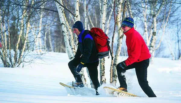 Snowshoe Trails in Maine's Parks and Preserves