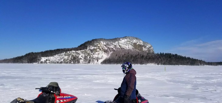 Maine's Best Snowmobile Loop Trips