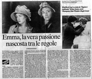 La Repubblica - 10 marzo 1996