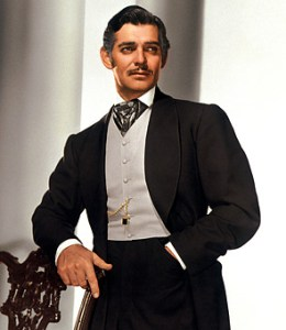 Clark Gable insuperabile Rhett Butler in Via col vento/Gone with the wind