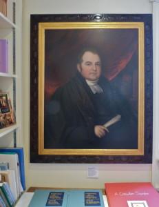 Edward Cooper, ritratto esposto nel Chawton Cottage