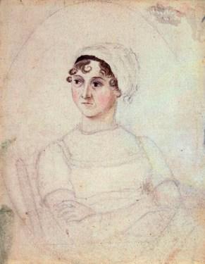 Jane Austen, by Cassandra Austen, circa 1810