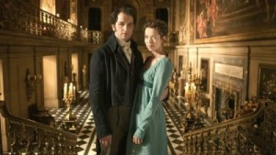 Darcy and Elizabethin Death comes to Pemberley, BBC 2013