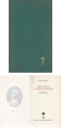 Orgoglio e Prevenzione, Mondadori, 1932