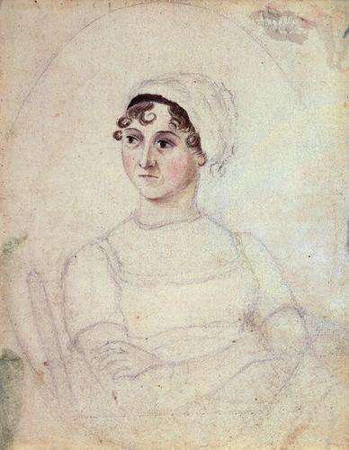 Jane Austen portrait 1810
