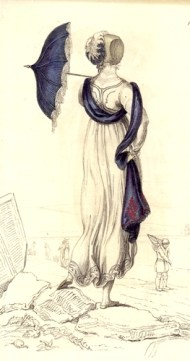 Promenade Dress (Ackermann's Repository 1809)