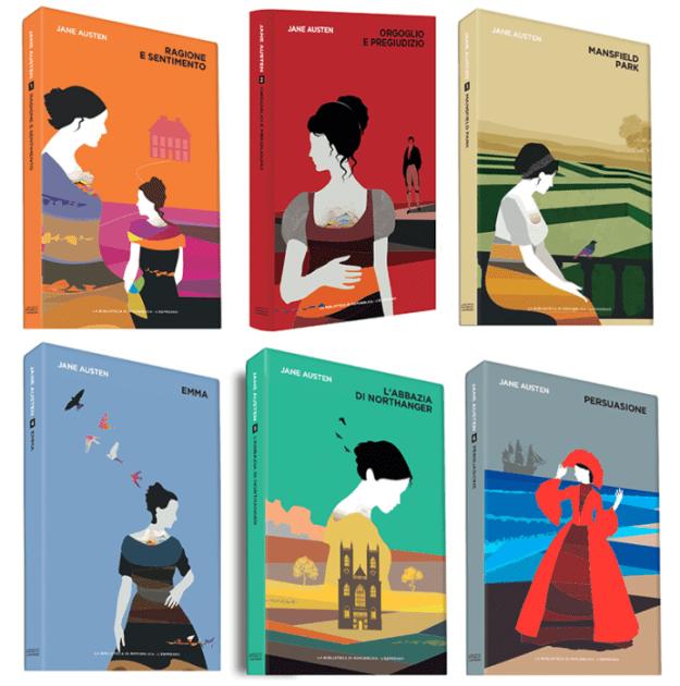 Romanzi di Jane Austen - Collana La Repubblica 2017