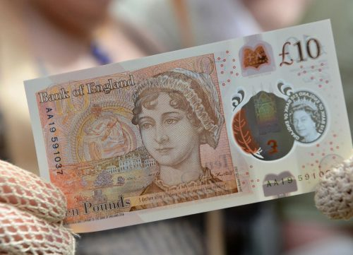 Jane Austen Ten Pound Note