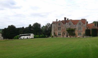 Chawton House, partenza jasit