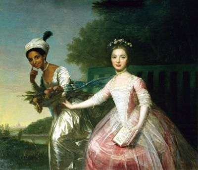 Ritratto di Dido Elizabeth Bell e Lady Elizabeth Murray, nipoti di Lord Mansfield