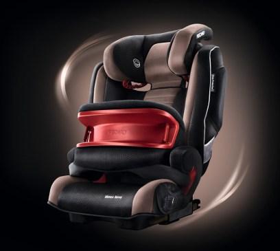 Sicherheit fürs Kind: Sitz von Recaro