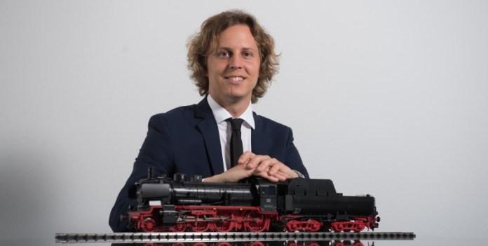 Glaubt weiter an Märklin: Geschäftsführer und Spielwaren-Spross Florian Sieber (© Gebr. Märklin & Cie. GmbH)
