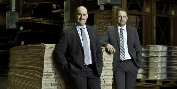 Rechtzeitig die Nachfolge geregelt: Geschäftsführer Ralf (l.) und Guido Heitz.