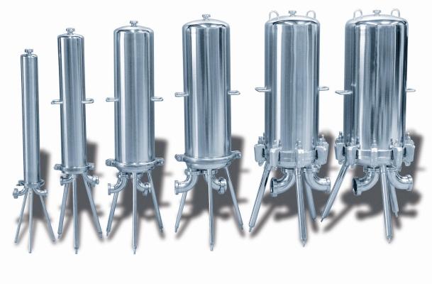 Kerzenfiltergehäuse: Sie werden unter anderem für die Wasseraufbereitung eingesetzt, beispielsweise in der Chemiebranche.