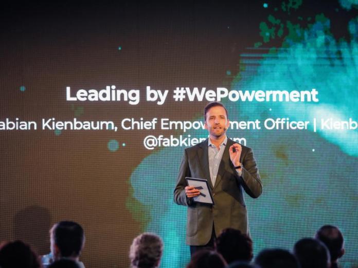 Fabian Kienbaum bei der People Convention in der Kölner Firmenzentrale: Empowerment als zentrales Elemente der Firmenkultur.