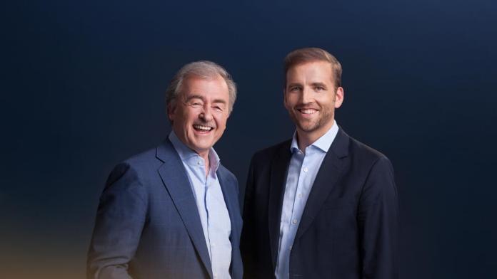 Vater Jochen und Sohn Fabian Kienbaum: Wir sind nie im Streit auseinandergegangen.