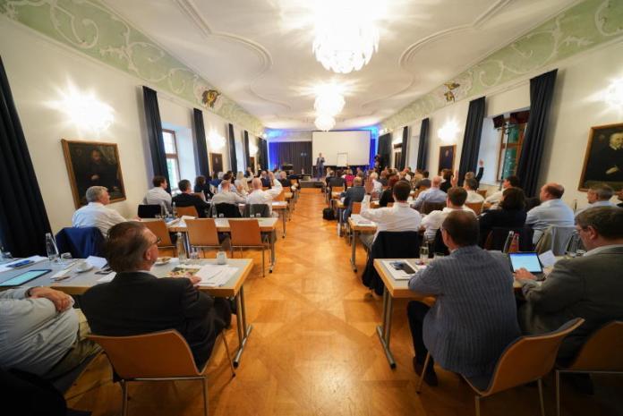 Blick ins Kolloquium: Das Internationale Marken-Kolloquium fand am 5. und 6. September im Kloster Seeon statt. © Mandat Managementberatung Dortmund