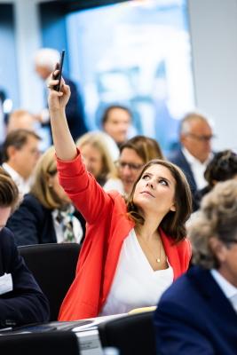 Onlineaffine Sarna Röser: Sie forderte mehr Investitionen in die digitale Infrastrktur wie auch die digitale Bildung.