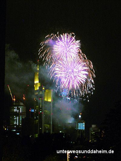 Frankfurt Wolkenkratzerfestival 2013  Unterwegs  Daheim