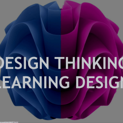 design thinking for learning design