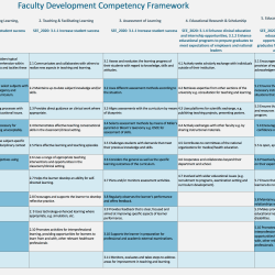 UNTHSC Faculty Development Framework