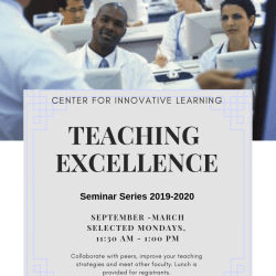 Teaching Excellence Seminar Series 2019-2020