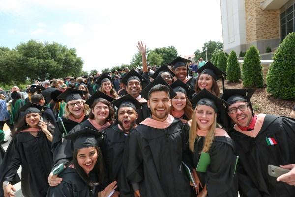 UNTHSC Graduation