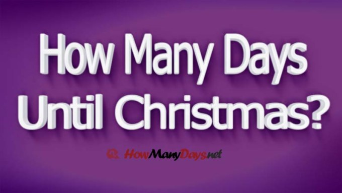 2017 how many days until christmas countdown