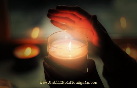 Focus On the Light, Surviving the holidays after loss of a child, When Christmas hurts, Until I hold you again, Light of Christ