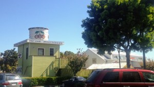 Olson fruit stand in Sunnyvale