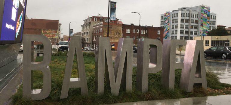 BAMPFA sign, Berkeley