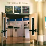 Entrance to the Historical Museum in Cupertino.