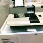 Olivetti's Programma 101 at the Cupertino Historical Society and Museum.