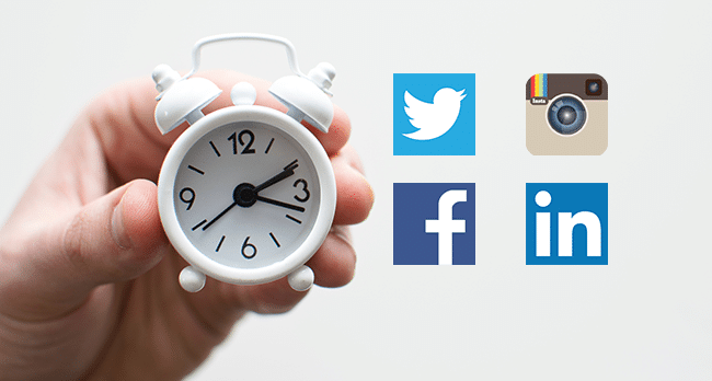 Knutsford Web Design - When is the best time to post on social media?