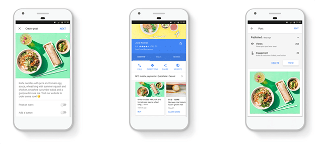 Google Posts - Small Business Features
