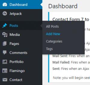 WordPress Tutorial - Add New Post