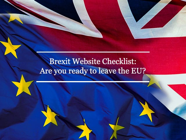 EU Brexit Website Checklist