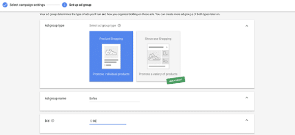 How to create a Google Shopping Ad