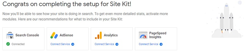 Google Site Kite Set Up