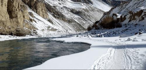 snow treks, Chadar Trek in India
