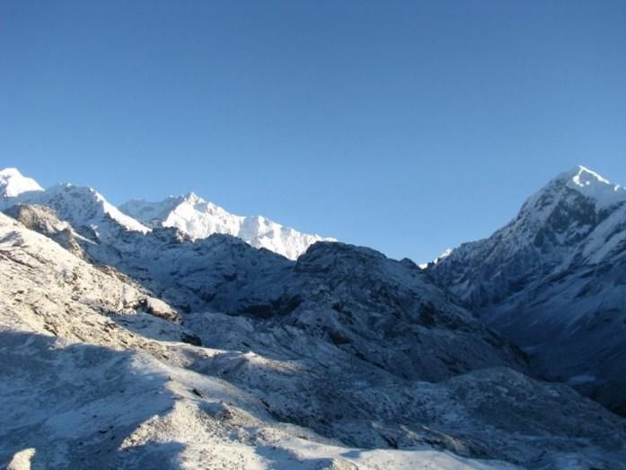 snow trek in India