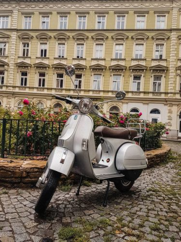 Cute scooter - Vienna, Austria
