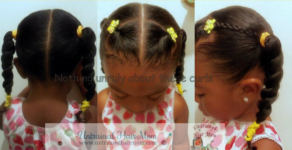 5 Easy Creative Natural Hairstyles